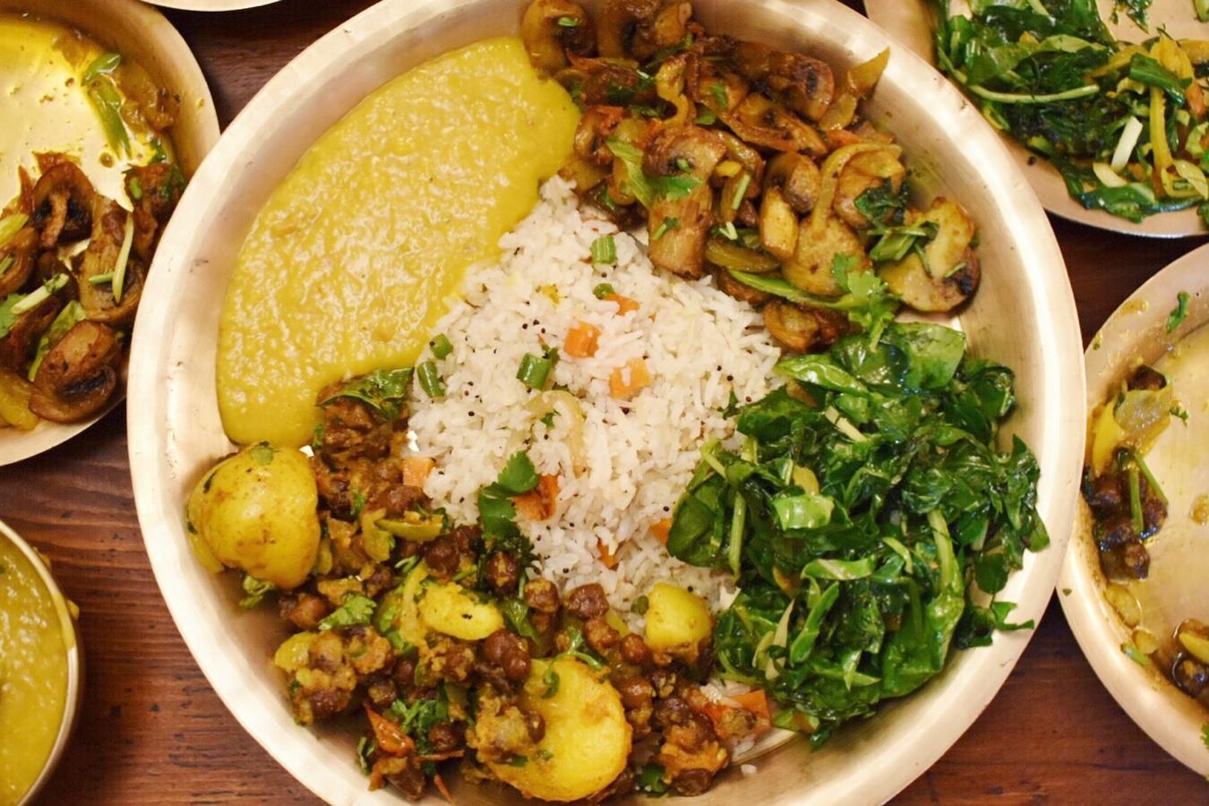 Yak Yeti Yak vegan and vegetarian Nepalese restaurant food bath restaurants uk