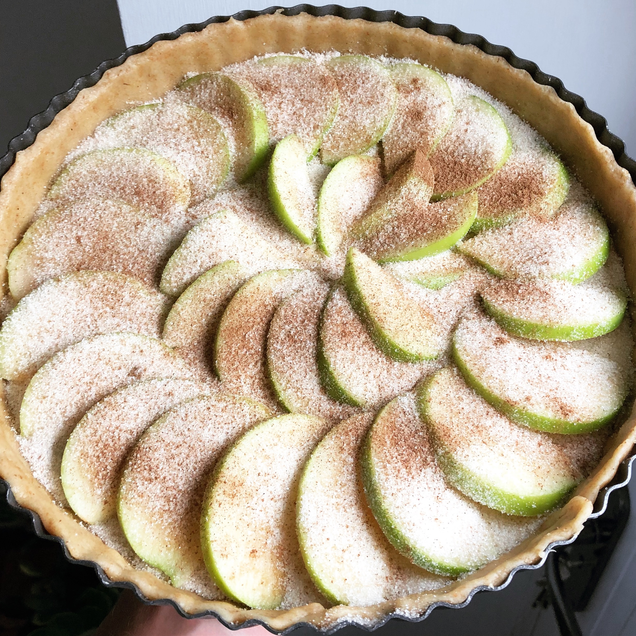 vegan plum apple tart recipe easy