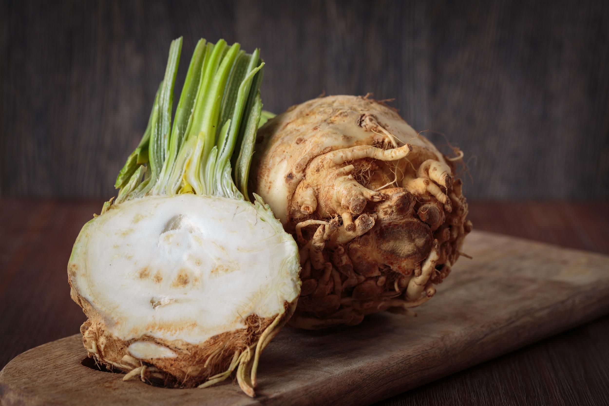 vegan celeriac risotto recipe creamy quick easy and healthy
