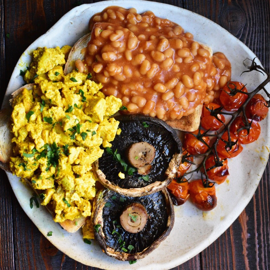 easy scrambled tofu recipe vegan healthy quick