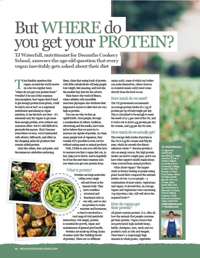 vegan nutrition guide plant based diet plan tj waterfall