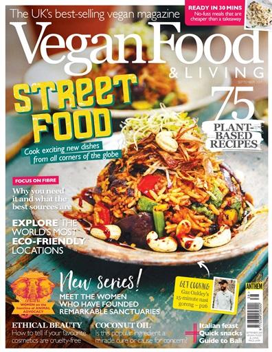 vegan food and living magazine article feature vegan nutritionist