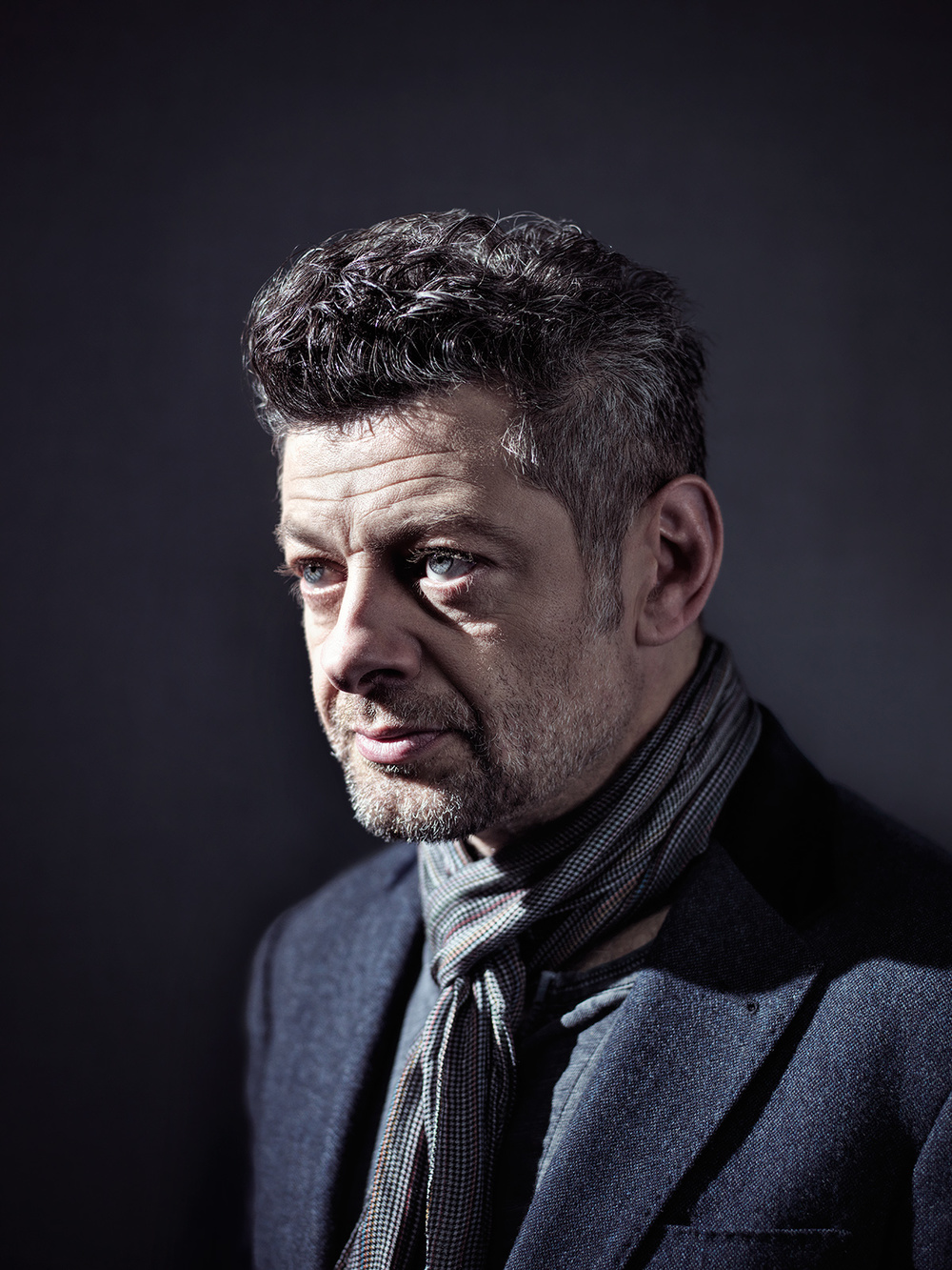 Andy Serkis was at the Biltmore at the same time as us!