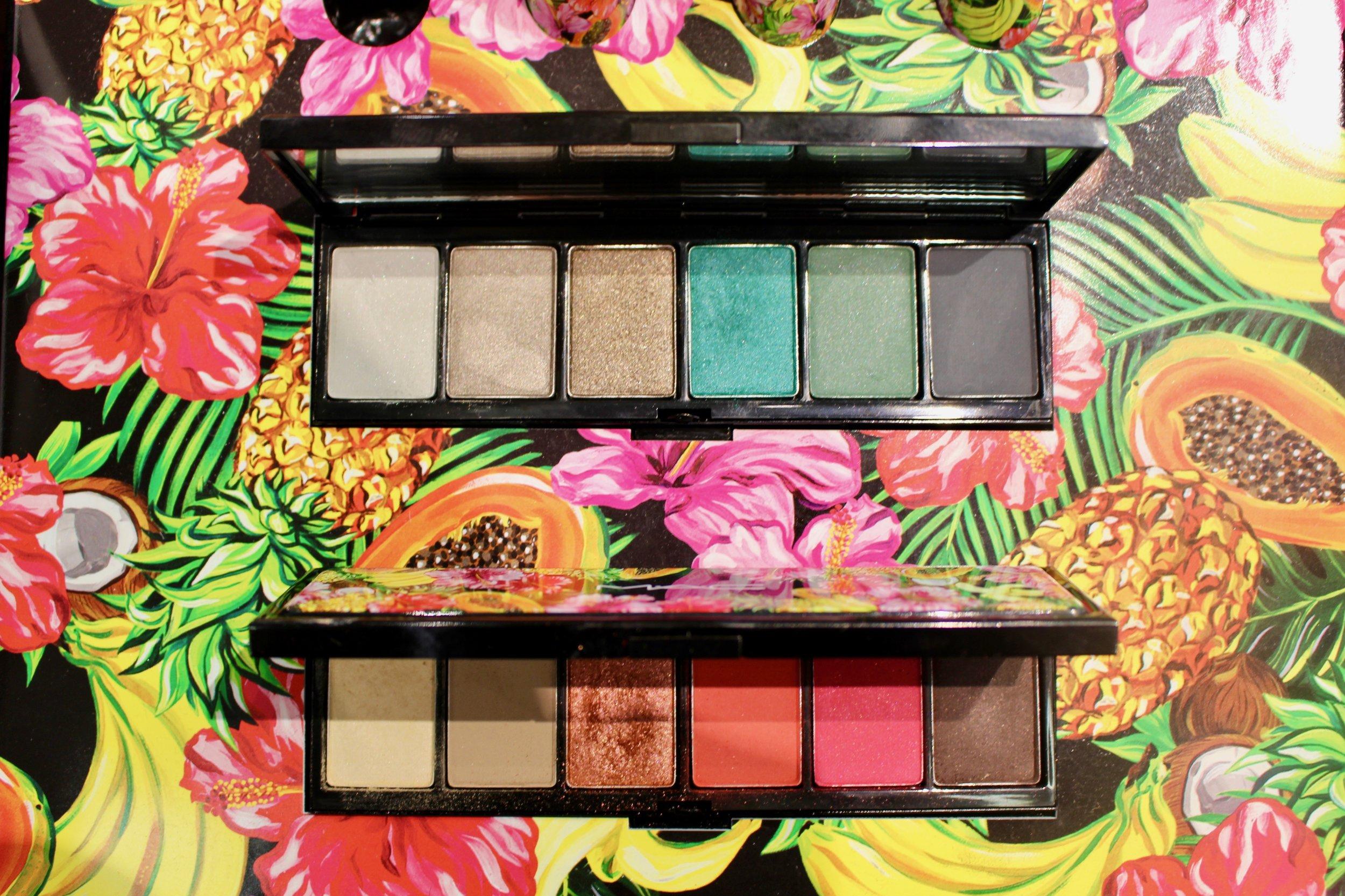 Fruit Juicy Eye Shadow Palettes - ABOVE: Fruit A La la      BELOW: Love in the Glades - $32