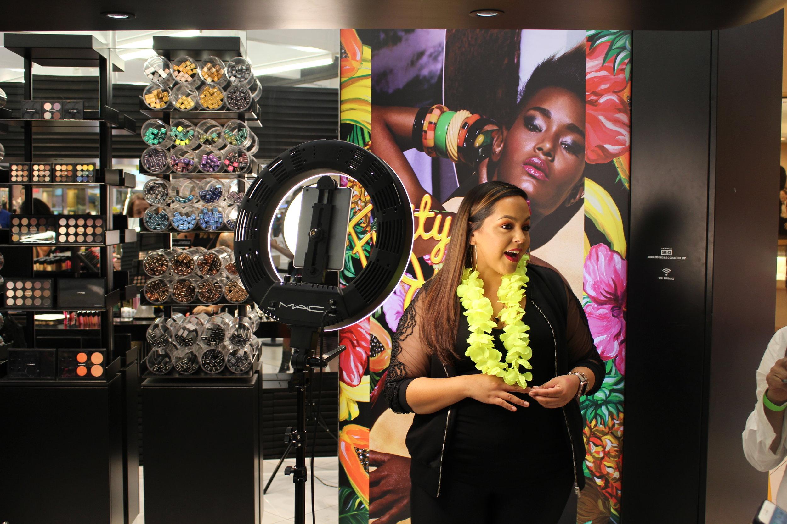 Desiree Rodriguez - MAC Cosmetics Regional Media Artist for Orlando, Fl