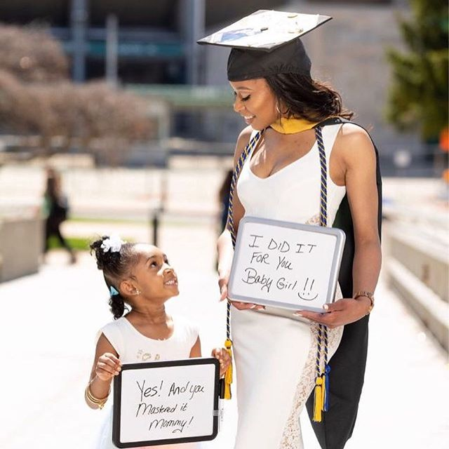We're screaming congrats to our Vice President for completing her Masters in Social Work! Congrats @sweet_keish !Job well done! : #CHICmoms 🎀
