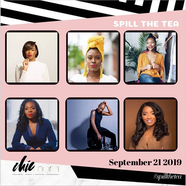 It's going to be a day full of CHICness for our annual #SpillTheTea event!!! This conversation is one you don't want to miss and we're so thrilled to have @tiekonejon as our keynote speaker! We're talking about it all! Motherhood is a journey and we need to unsilence our struggles, be bold to share our insecruities, and transparent enough to share our wins! Going on our 4th year this is one of our #CHICmoms favorites!. : We're accepting limited vendors! If you're interested in becoming a vendor please email us! Space will go fast!