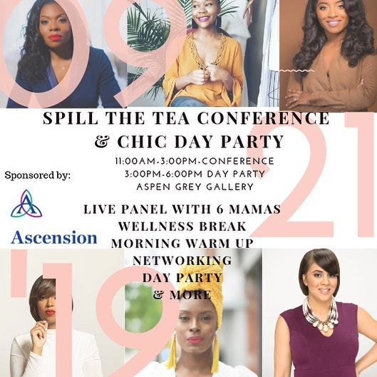 Ok mamas we are LIVE! Super excited for this! The panel is amazing! Complimentary head shots to take your professional brand to the next level, networking, learning, shopping local businesses, wellness breaks, morning warm-ups by @getitgirl_dancefitness and ending it with a CHIC DAY PARTY!!! ITS GOING DOWN!  Six vendor spaces available! Tickets are on sale! Sponsored by Ascension (St John Hospital)! September 21, 2019🎀 : Click link for tickets and vendor forms!! #CHICmom #SpillTheTea #DayParty #Detroitmoms #detroitmamas #minoritymoms #networking #businesstips #mentalhealth