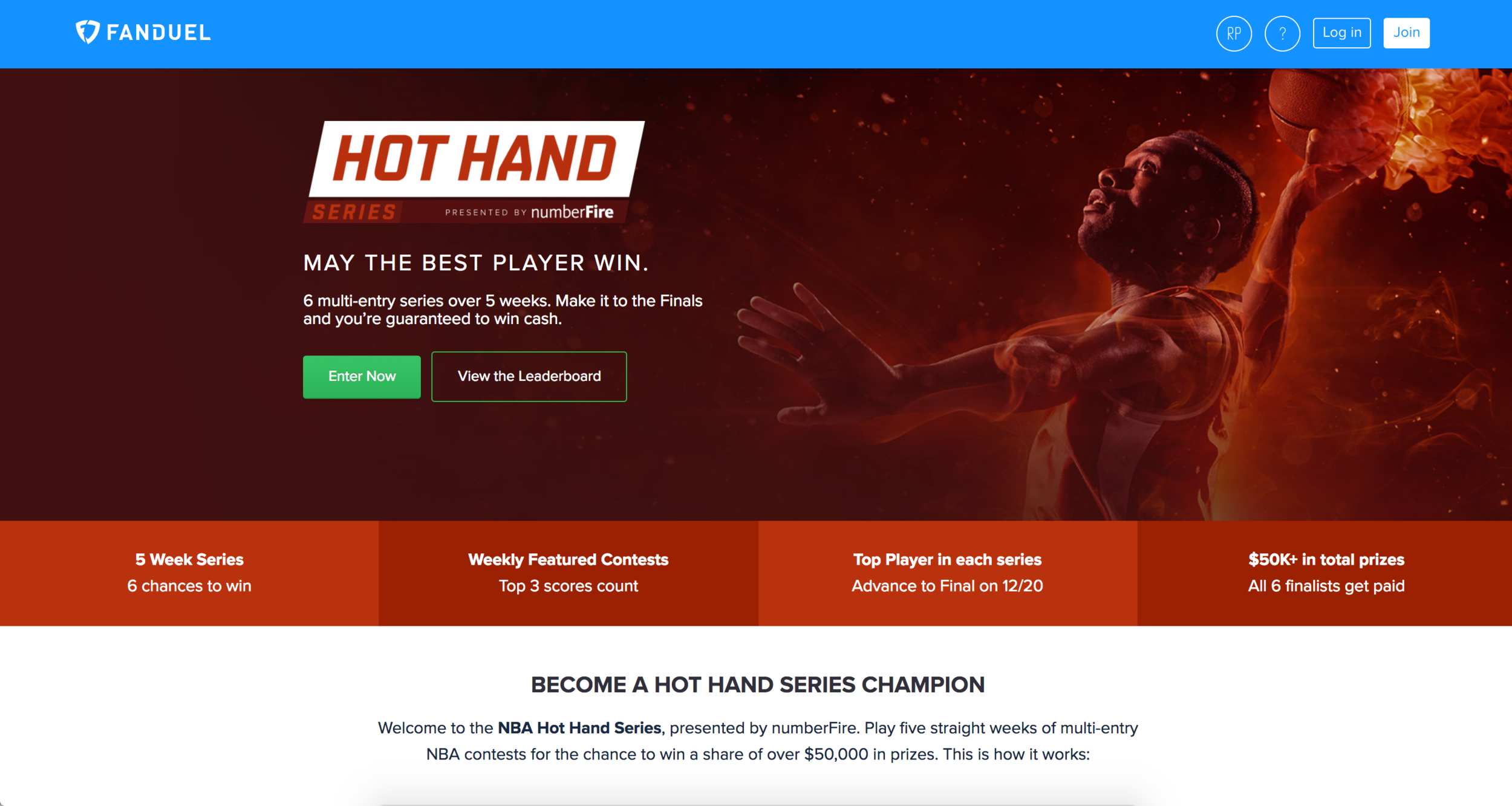https://www.fanduel.com/nba-hot-hand-series