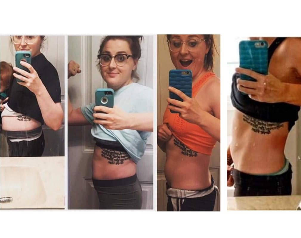 "My  #fangirlfriday  goes out to Fellow Coach Amber 😍😍😍  This momma be CRUSHING IT!!!!!!!!!! Her story is so 🔥🔥🔥🔥🔥🔥🔥🔥     ""5 months and 21lbs separates these pictures. I say it all the time, but it's about so much MORE than the number on the scale. I've lost weight, but I've gained confidence, energy, knowledge, community, support, and PURPOSE.  I can never thank my online gym and community enough for what its allowed me to do both fitness wise and business wise. There's no excuse to not start NOW 🗣""     You guyssssssssss, this community, programs, business is EVERYTHING. If ya ever wanted to become your HEALTHIEST &/OR Help others do the same, reach out to either of us! Amber and I run our groups together and seriously have the best support system!!!! You don't have to do this on your own!!!! (Link here ...  www.sarahplacencia.com  for Applications!) Your future self will thank you👌🏼💕👌🏼 #virtualbootcamp   #virtualfitclub   #sweatwithsarah  #thesweatlifewithsarah   #accountabilityiskey  #coachlife   #bestlife   #swolesisters"