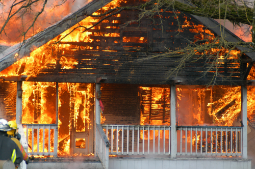 Older homes, in particular, become fully engulfed very quickly.