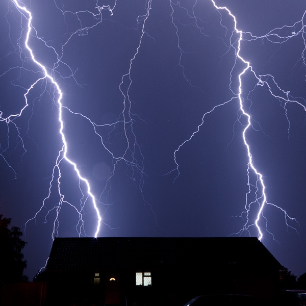 *No matter how great your surge protection is if lightning strikes your house, all bets are off.