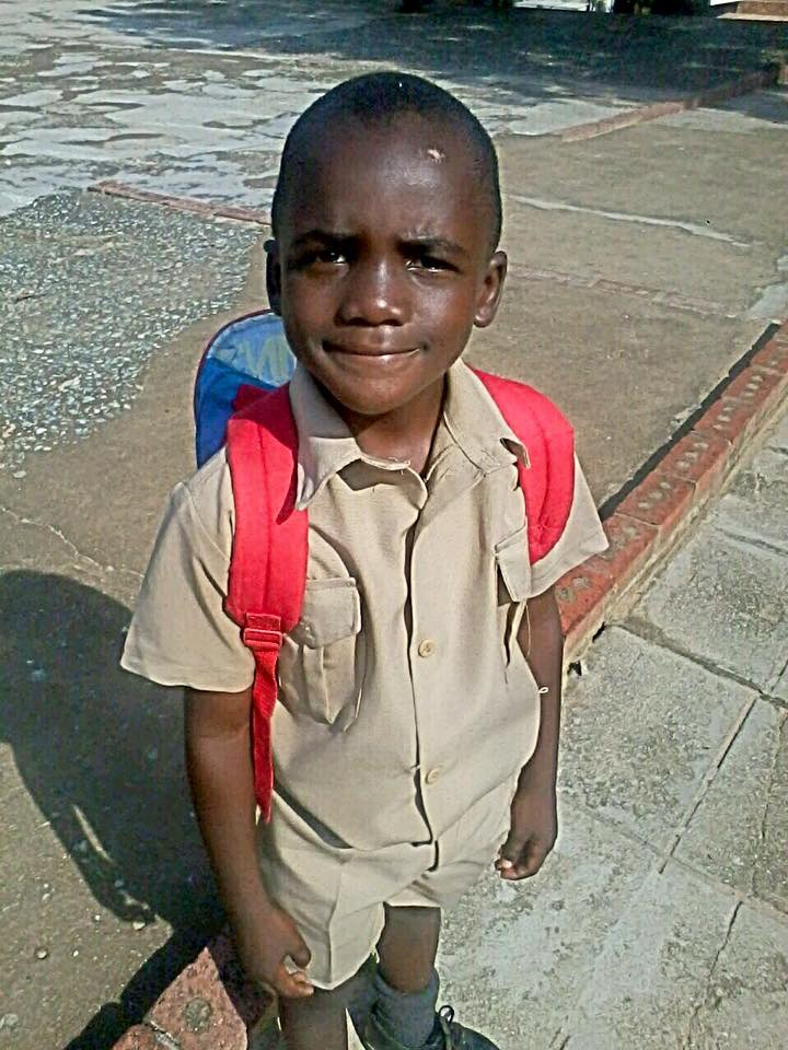 Meet Elvis one of the students supported by Seeds of Africa Fund
