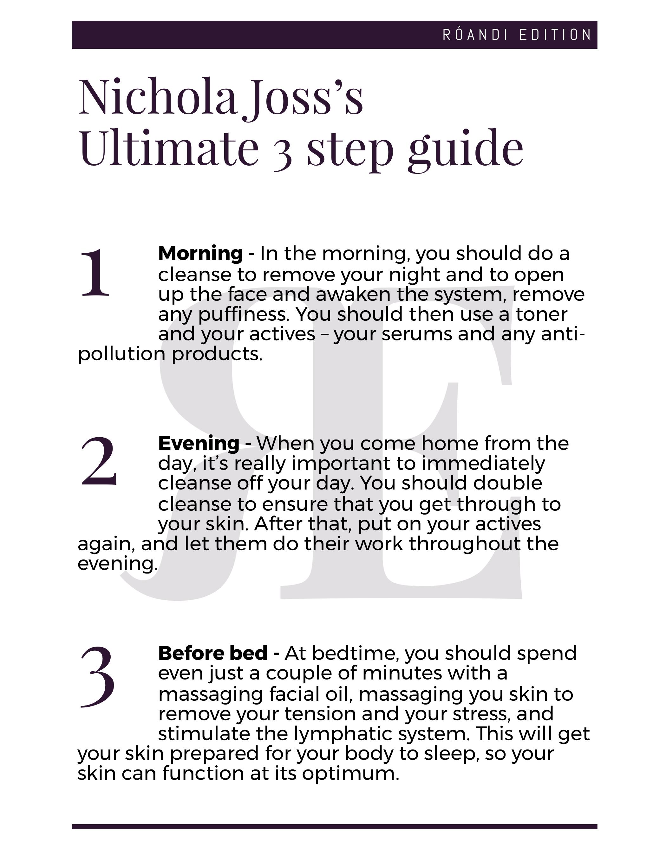Nichola Joss's  Ultimate 3 step guide.jpg
