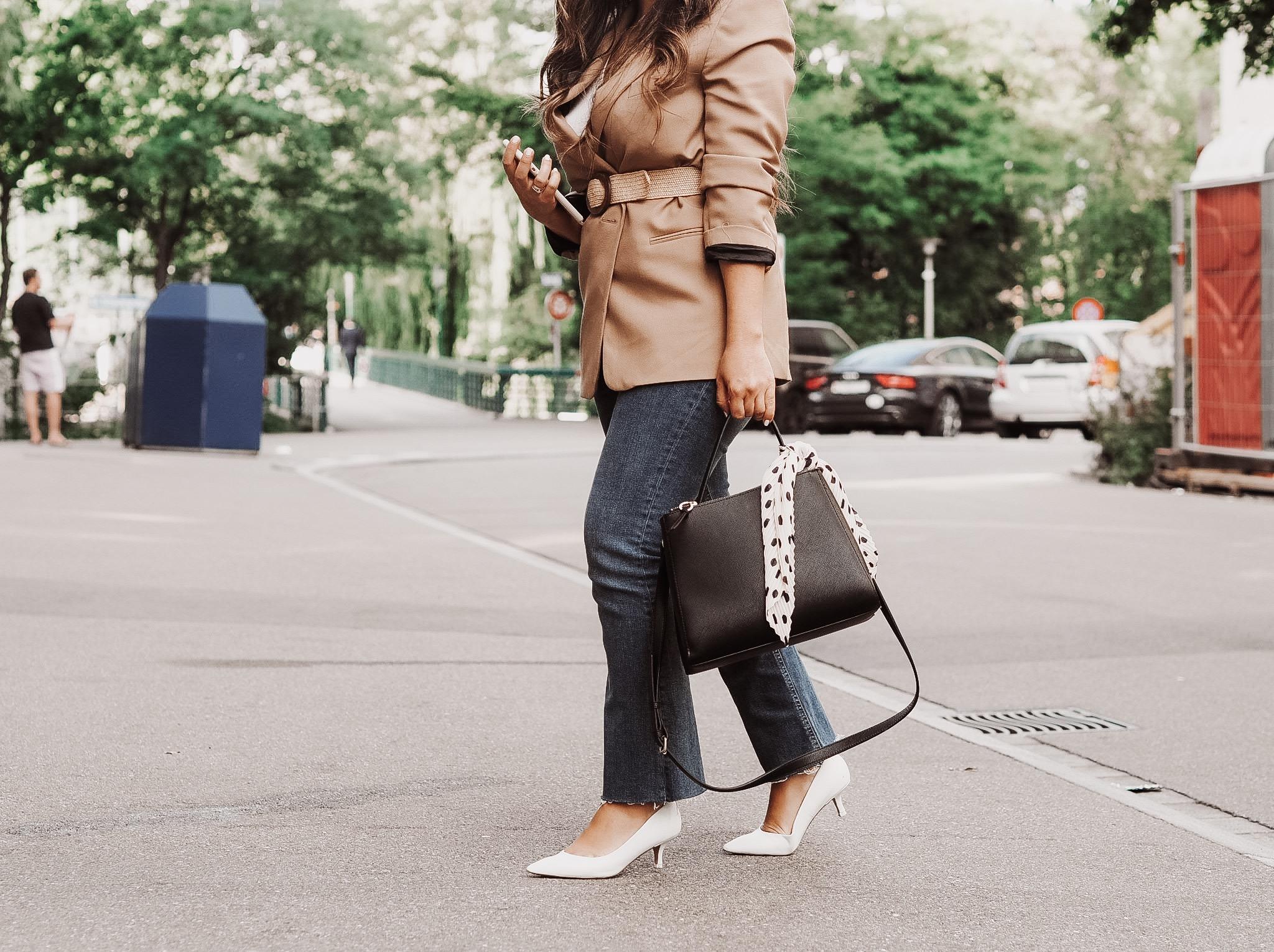zürich+ jeans+white heels