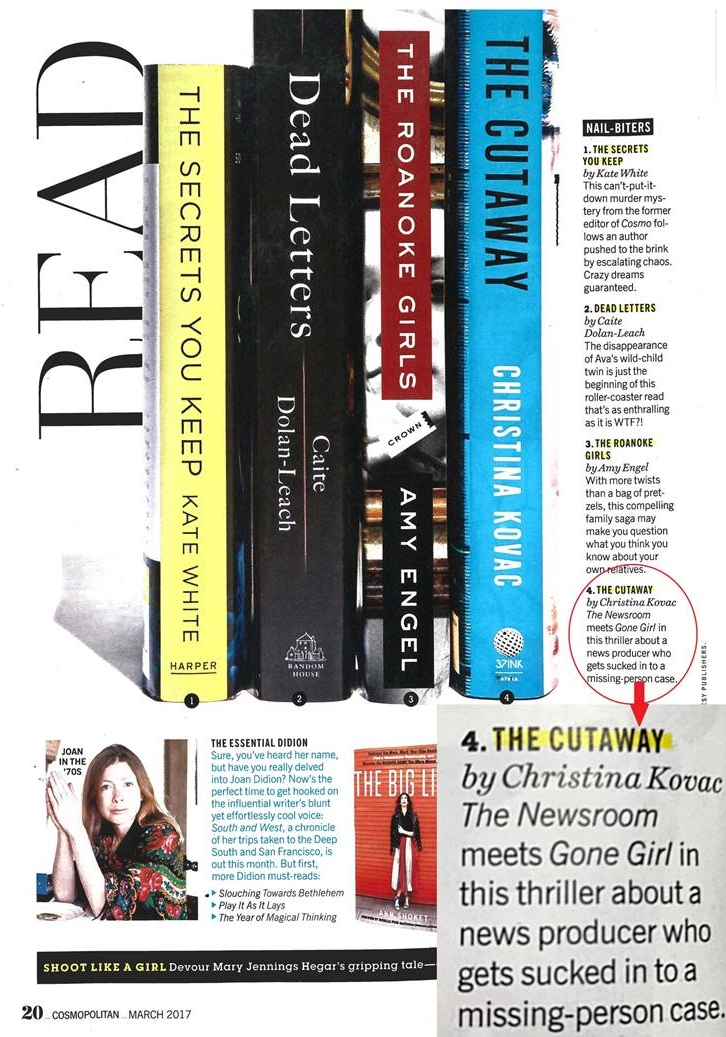 Cosmo Review of  The Cutaway