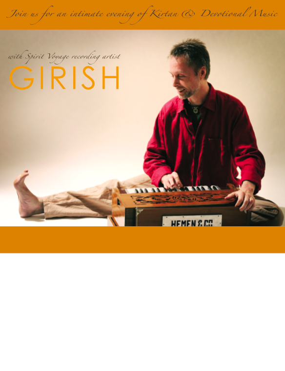 Girish Music Event Flier