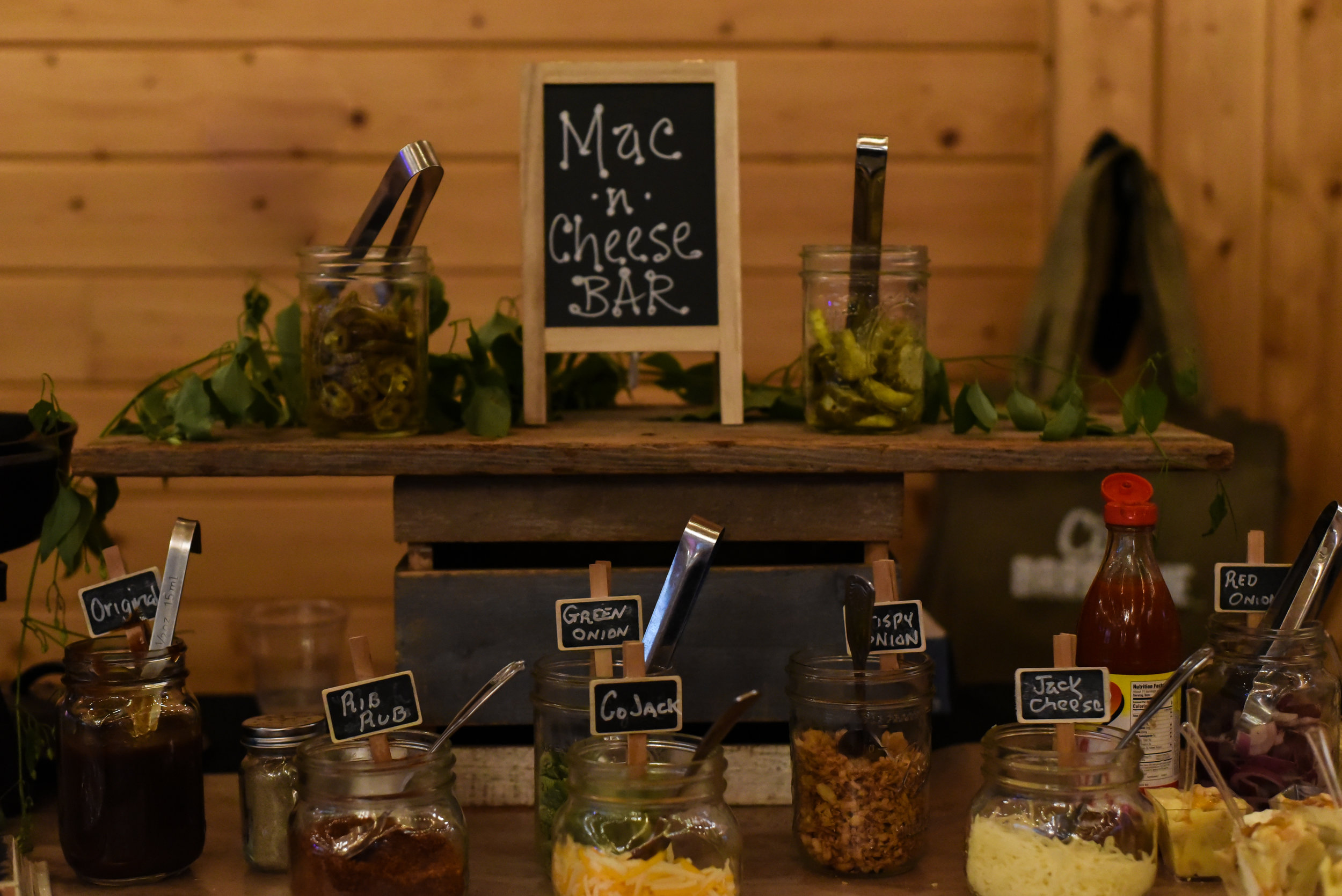 Mac & Cheese Bar by City BBQ Cary; Photo by Sonder Photography