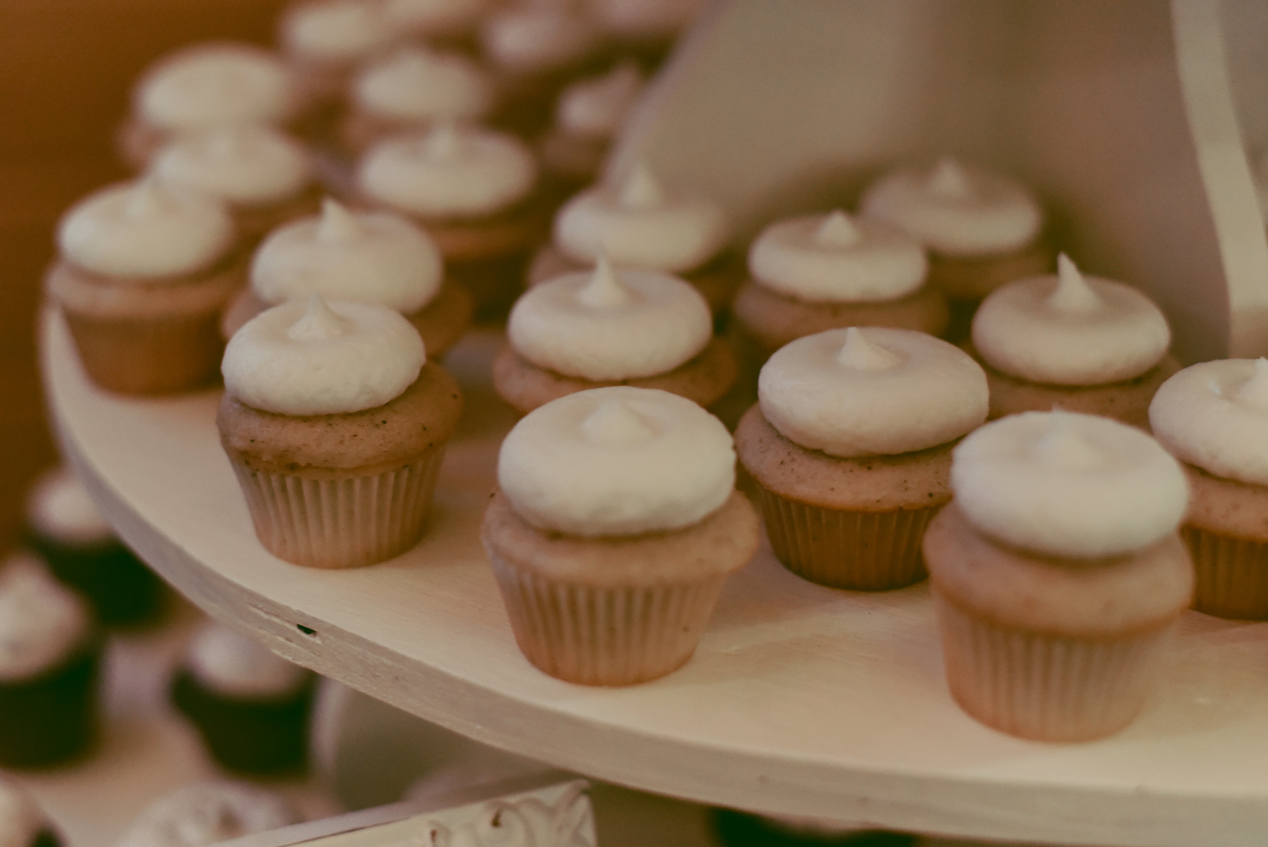 Strawberry Cheesecake Cupcakes by The Old Place; Photo by Sonder Photography