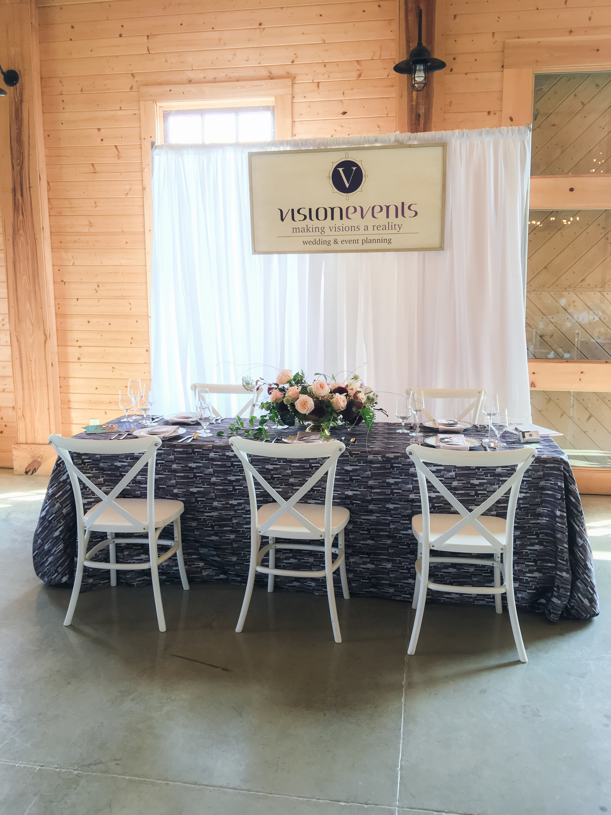 Display by Vision Events & KatieDid Florals