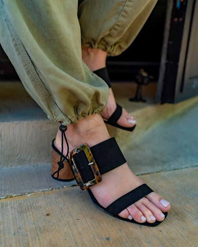 Buckle Up! I love how the buckle trend is making its way to footwear. This @amazonfashion find was not only affordable but they are super comfy. They take me from day to night. http://liketk.it/2CEAh #liketkit @liketoknow.it