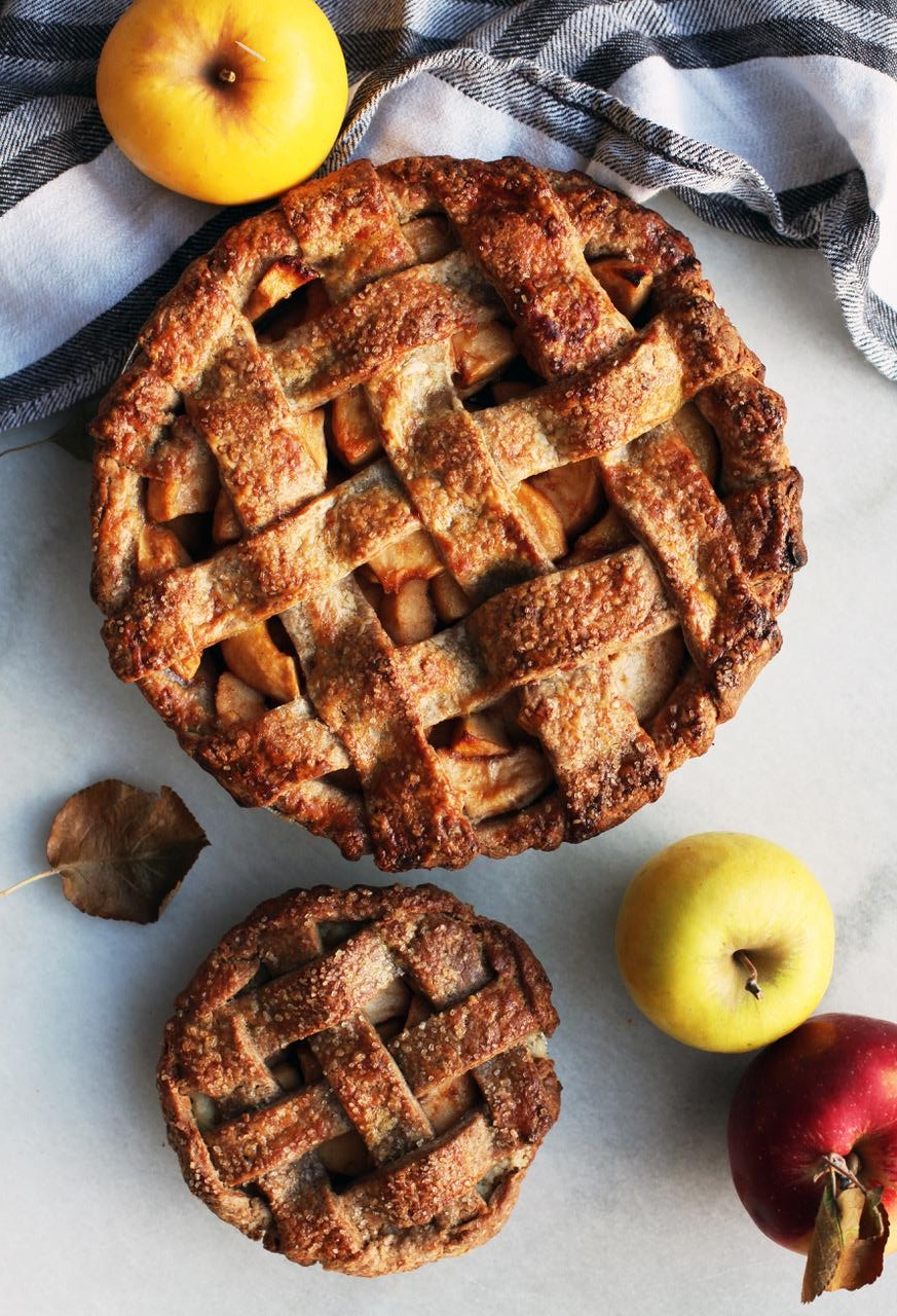 Pies here come in two sizes: individual, or super-sized to share with friends!