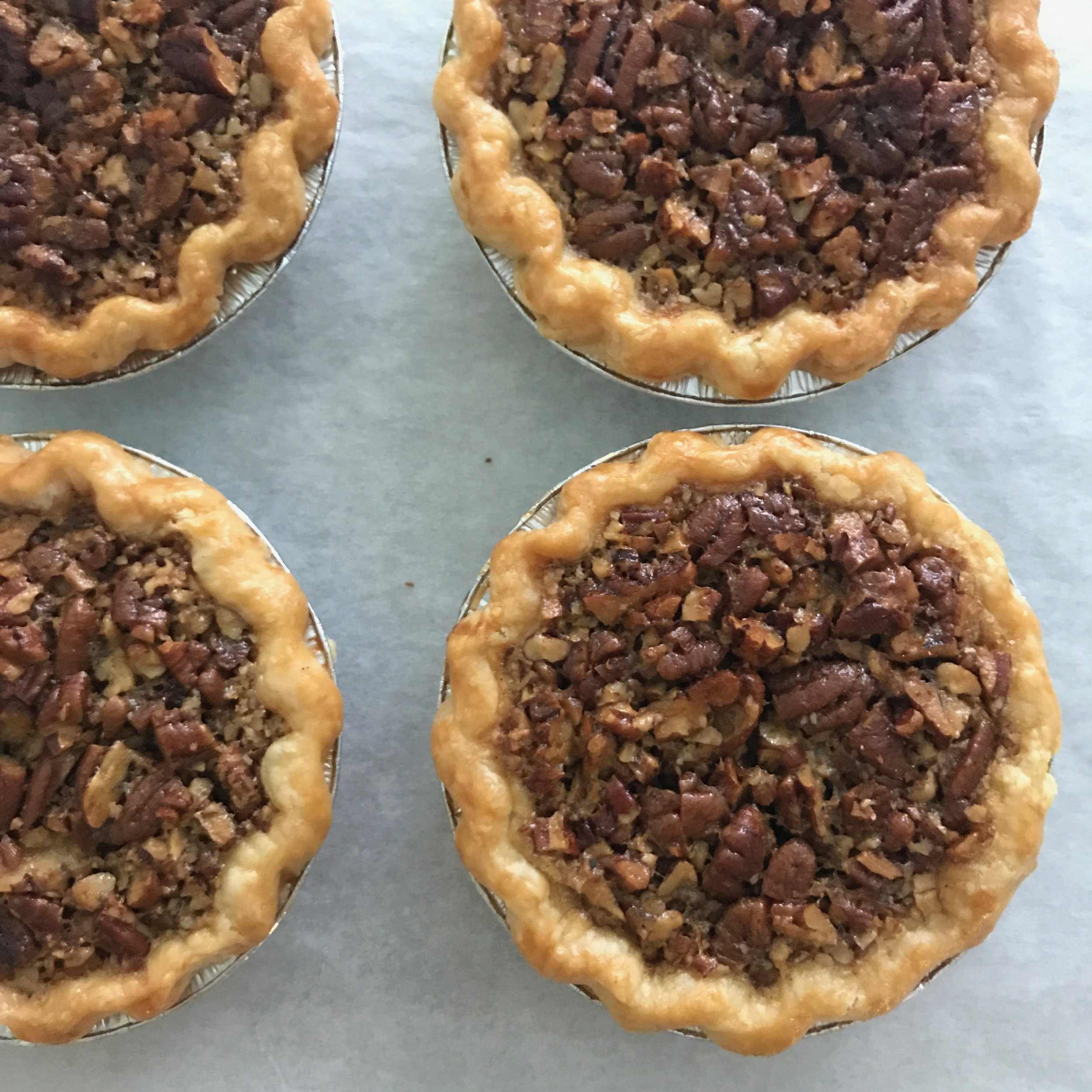 Our pies are seasonal so you get the best, freshest ingredients with the fullest flavor