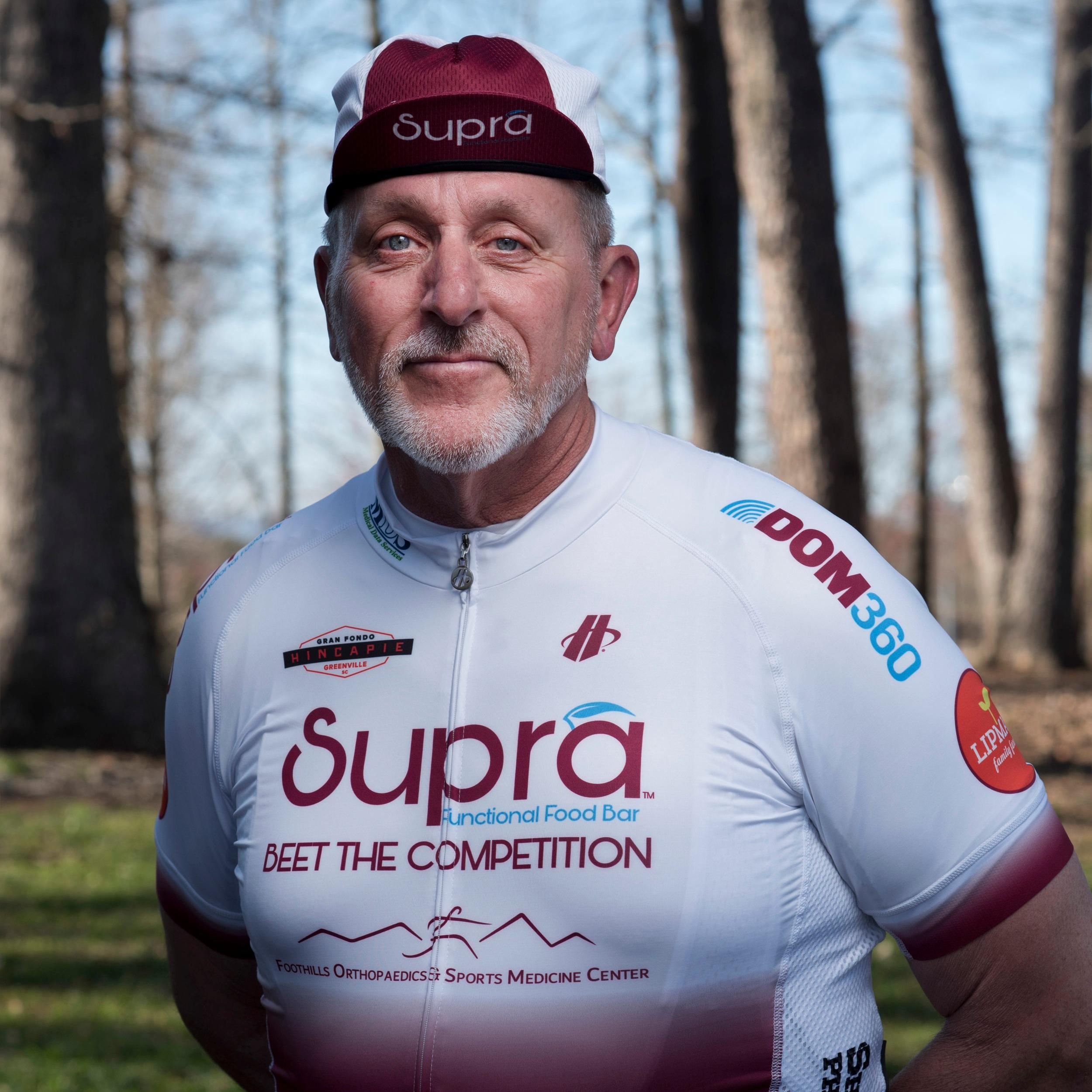 Mark Boucher - Official Ride Leader -