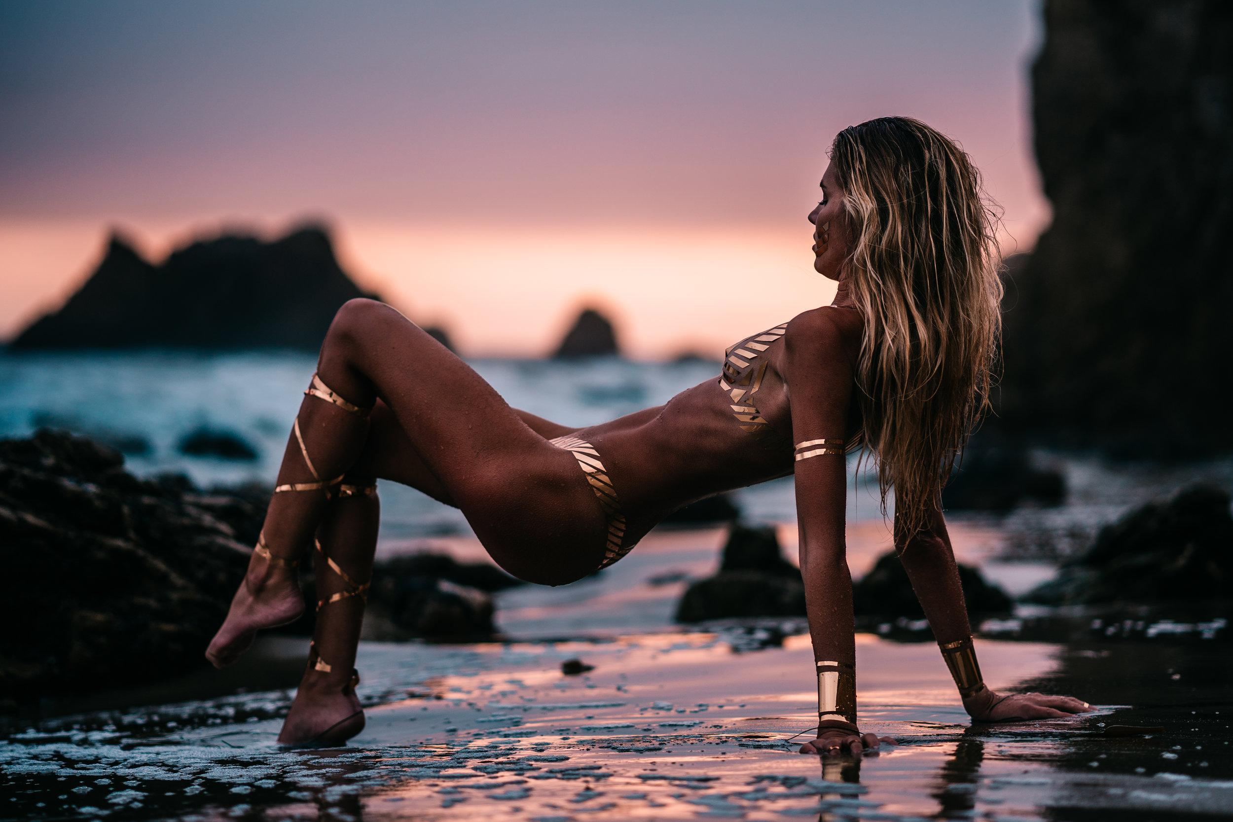 @morganketzner & @blacktapeProject  El Matador Beach - Malibu, CALIFORNI