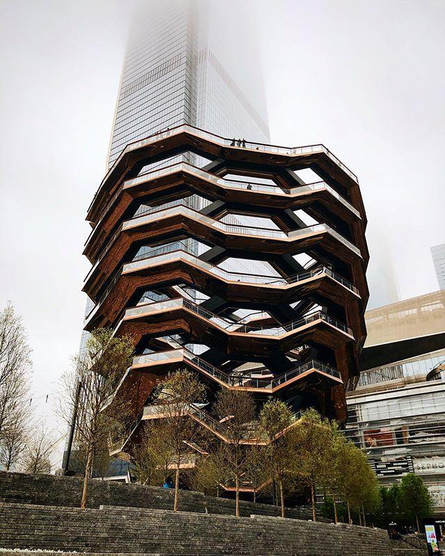 The Vessel at Hudson Yards in Manhattan.