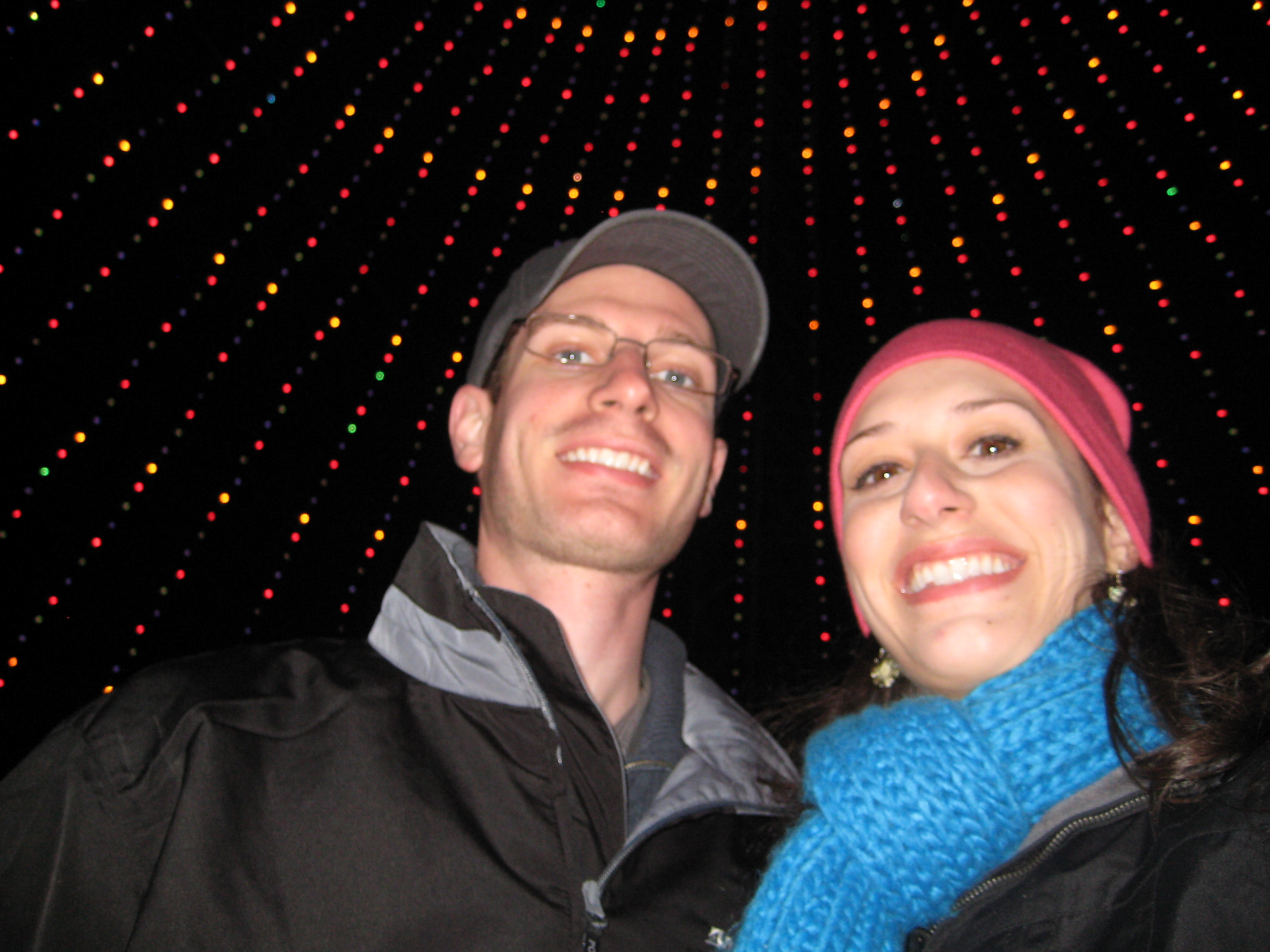 Under the Zilker Tree of Lights
