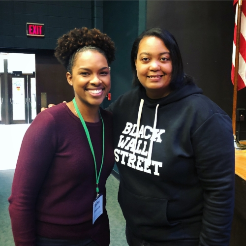 Rachel Simon-Lee, Arlan Hamilton (Founder, Backstage Capital)
