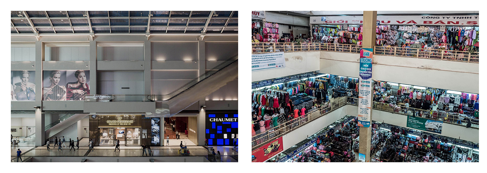 Malls. Singapore 2016, Hanoi 2016