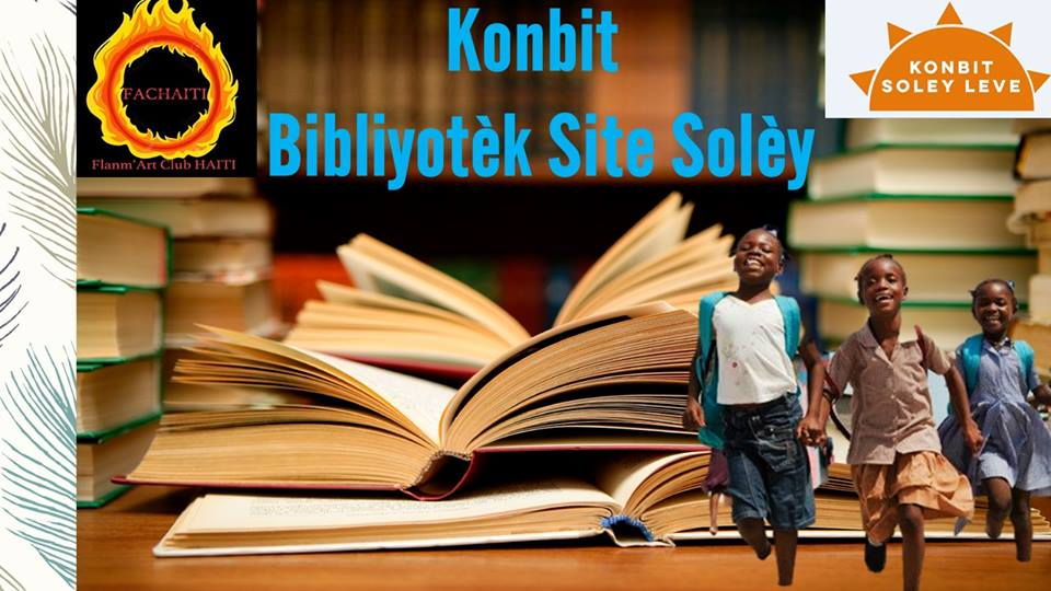 Konbit Bibliyotèk Site Solèy - Our mission is to build a modern, community-supported library in Cite Soleil, Haiti. Our approach is to be completely community-led and transparent. A library in Cite Soleil has both practical and symbolic value. It not only provides a physical space to encourage learning, research, and growth; it is also a statement that Haiti believes in the future of the youth of Cite Soleil, and is willing to invest in them.