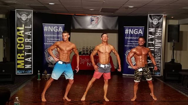 Tight Men's Physique Class at NGA Mr.Anthracite/Coal today.