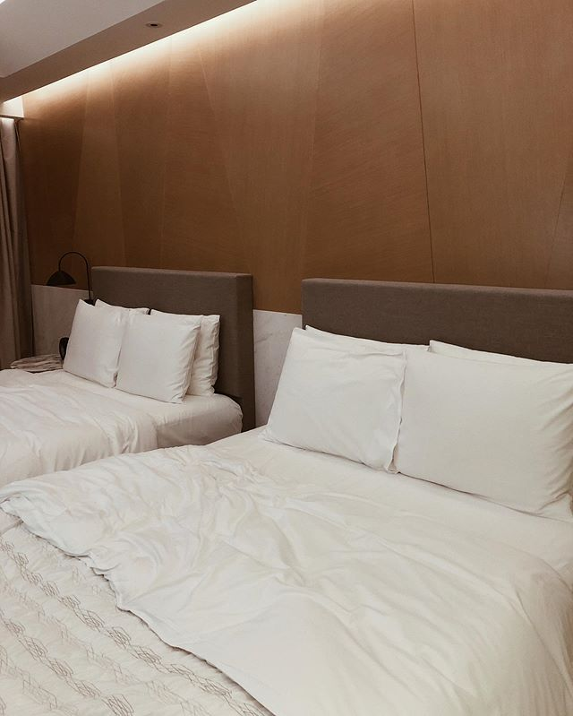 The hotel in Shanghai was wayyyyyy too bougey for me.