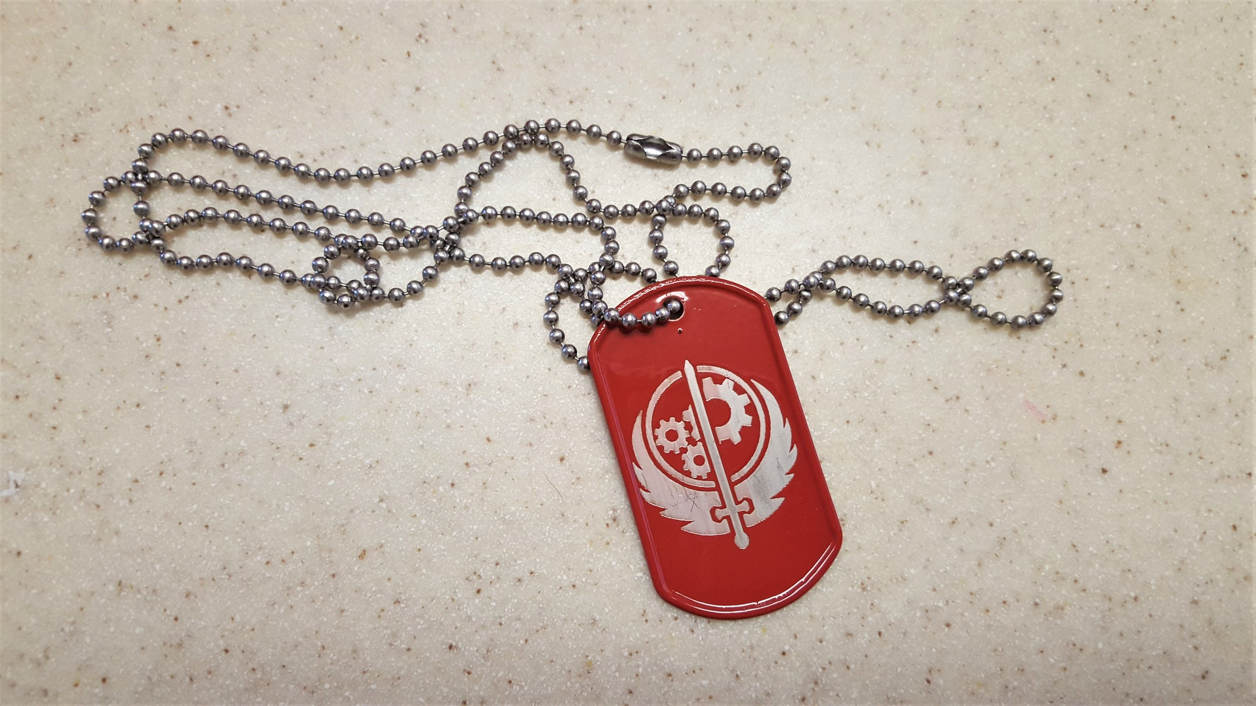 Brotherhood of Steel Dog Tag by  Malcognition