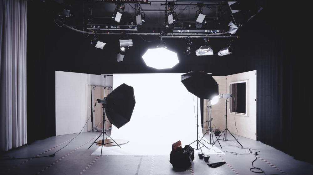 Your lighting setup does not have to look like this. Mine certainly doesn't. (Photo credit:  Alexander Dummer )