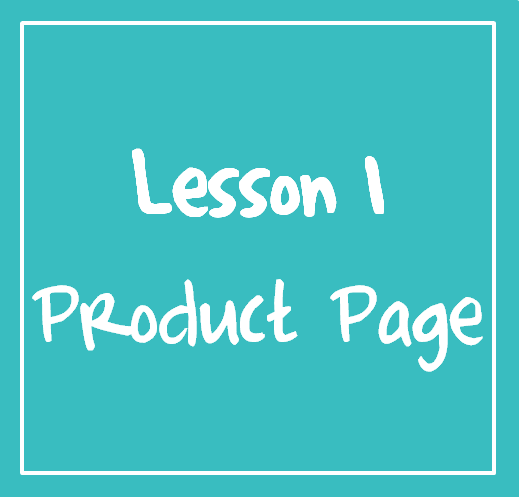 How to create, style & customise your product page.