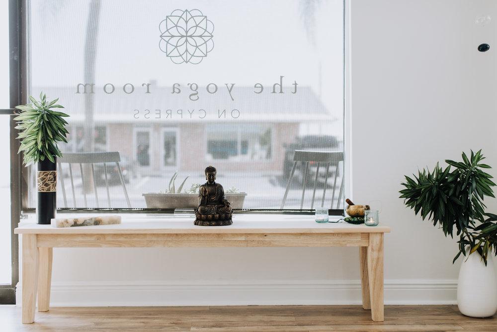 The yoga room, shot by  shaye babb