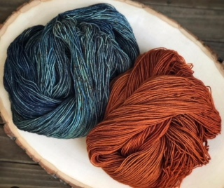 Yarn Dyeing with Laine and Lotus