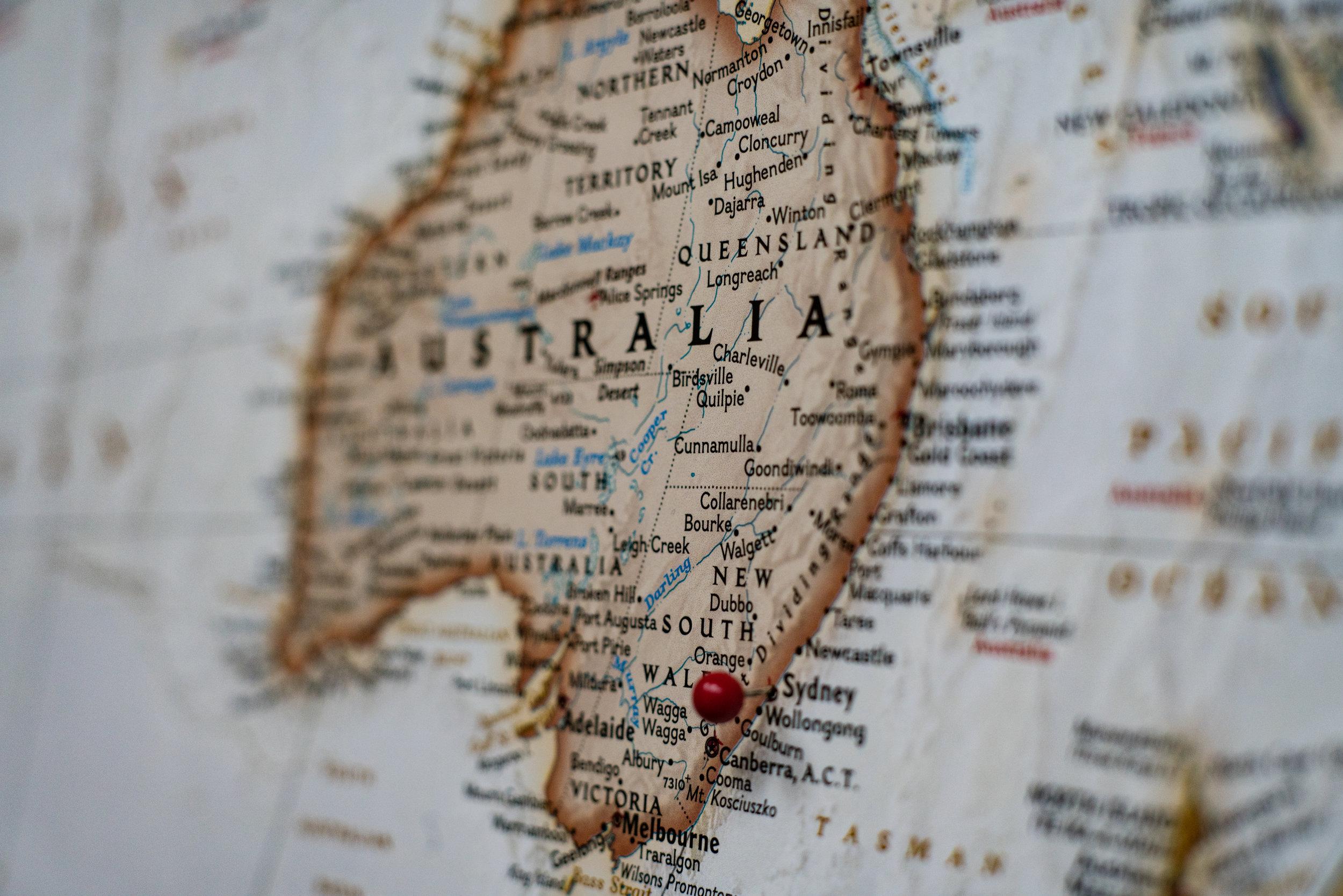 Blogging in Austrailia