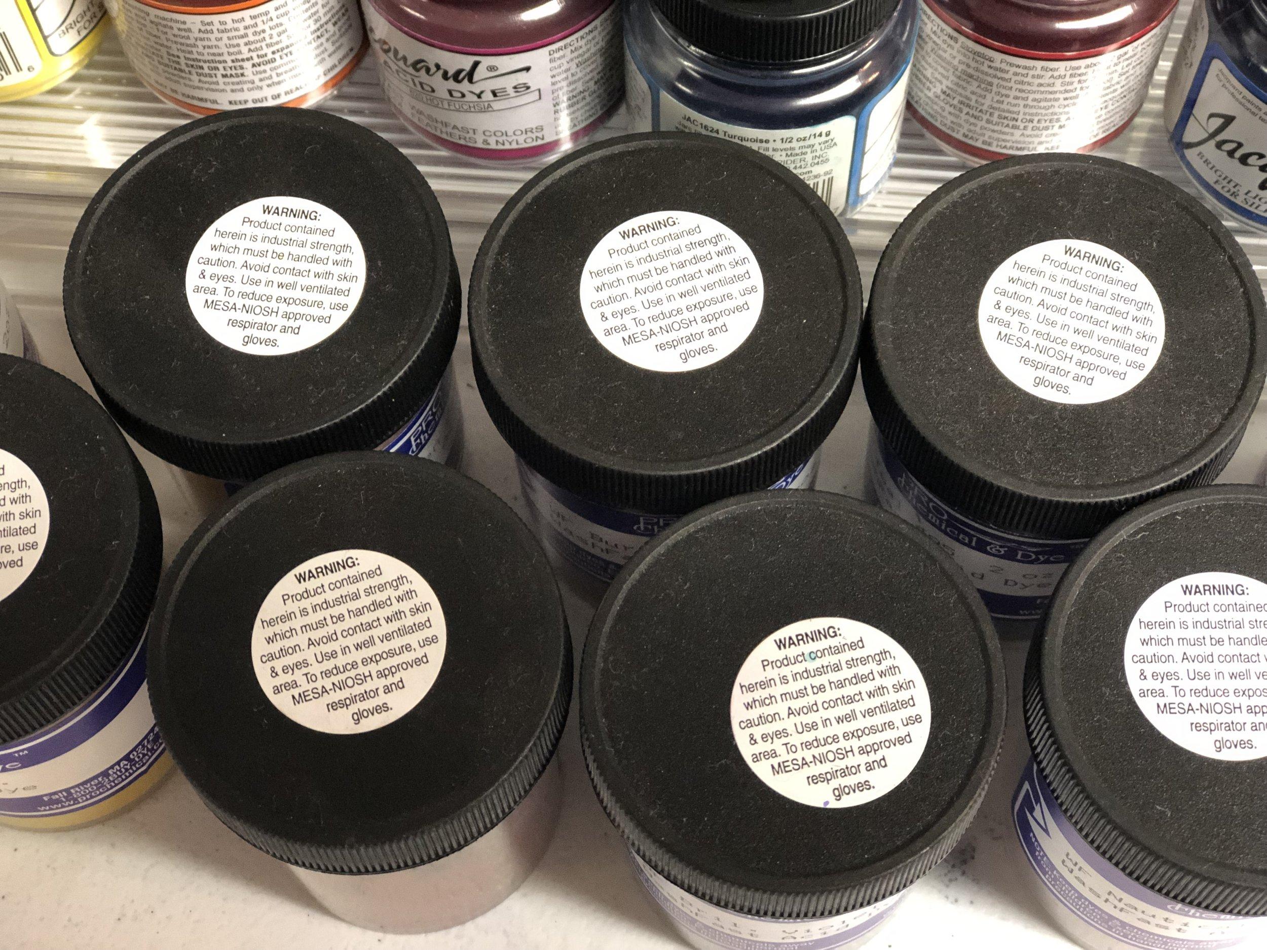 Yarn Dyeing Materials