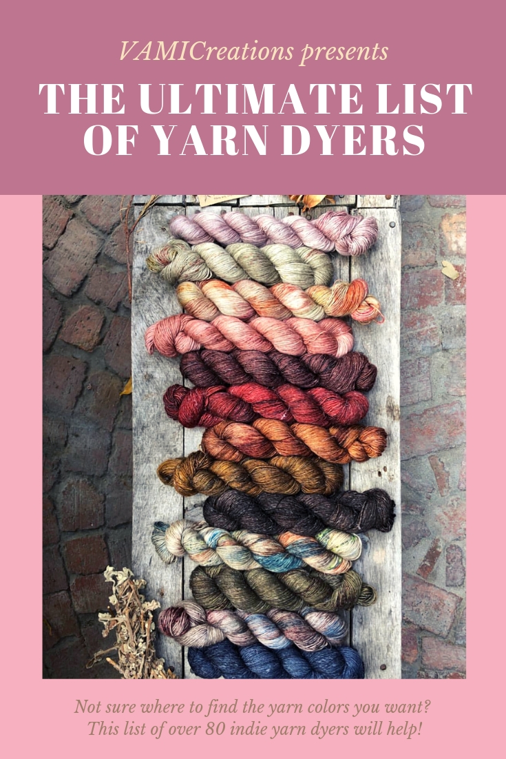 Pin to keep this list for later use! Yama Yarns from South Africa (see below for more about them).