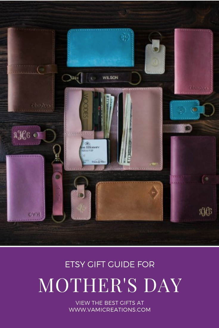 So Good So Wood Beautiful Leather Wallet and Accessories in a Pin to save this list for later :)