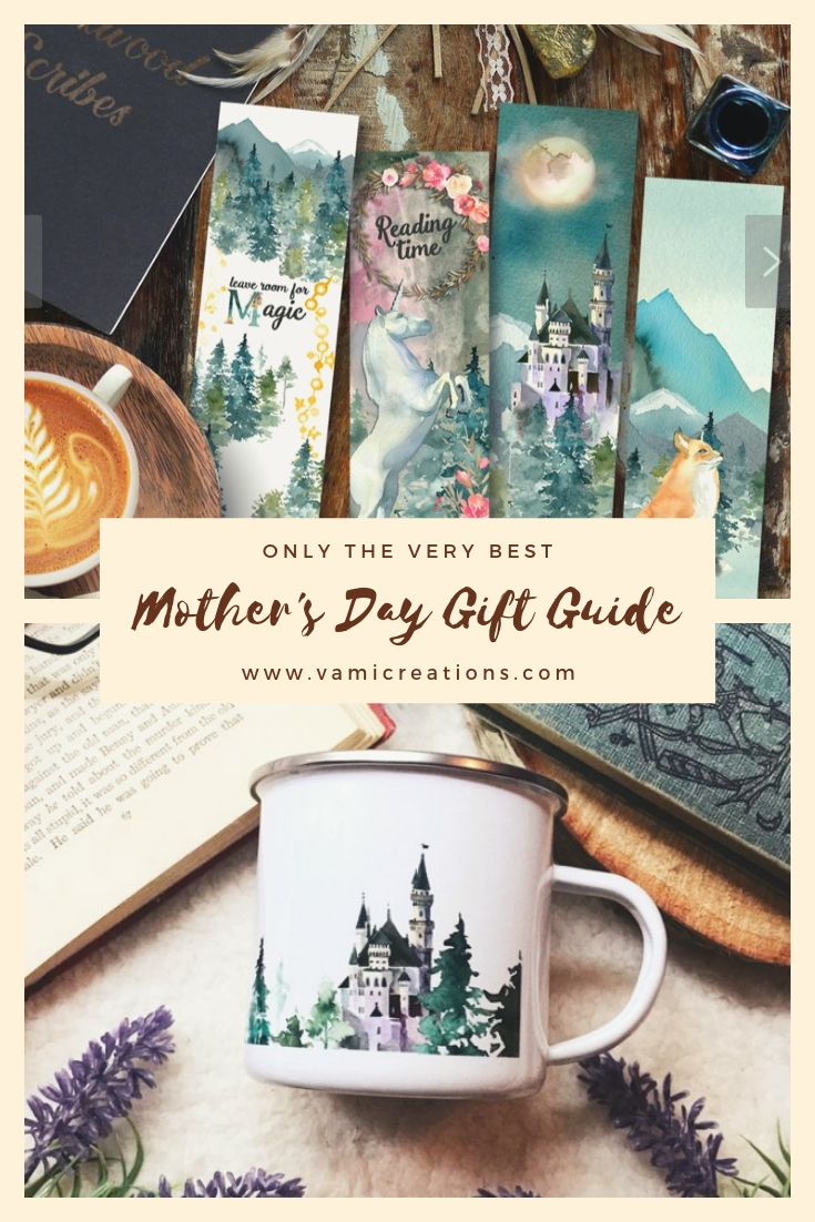 The perfect Pin to keep this list for later! Featuring Mirkwood Scribes gorgeous bookmarks and mugs!