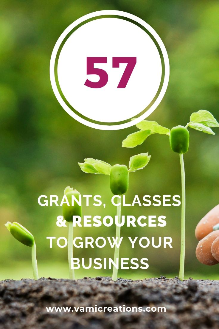 Grants classes and resources to grow your business