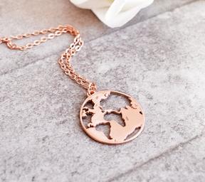 Bubblebox's beautiful globe jewelry