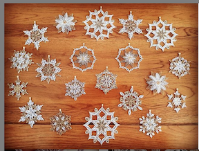 Aggie's gorgeous quilling snowflakes!!!