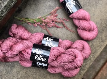 Air de Lune Gorgeous Yarns! Check out the Yarn Dyers of Instagram Post for more of these beautiful hand dyed yarns!!